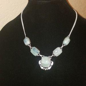 NWOT-Fluorite Necklace 10in- BEAUTIFUL!